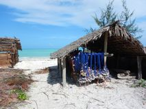 Simple house in a village in zanzibar. A simple house in a village in zanzibar Royalty Free Stock Photography