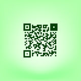 Simple icon QR code Royalty Free Stock Photos