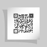 Simple icon QR code Royalty Free Stock Photography