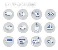 Simple icon for web. Set of simple construction and logistics icons for web. Flat vector illustration Royalty Free Stock Images