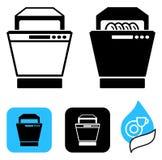 The dishwasher Stock Image