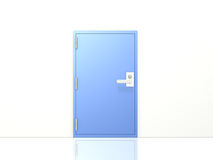 Simple image metal access door Stock Photo