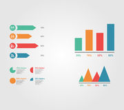 Simple infographic vector Royalty Free Stock Image