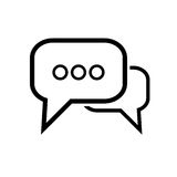 Simple internet icon Royalty Free Stock Image