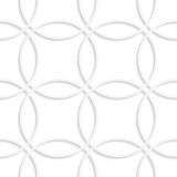 Simple intersecting circles seamless Royalty Free Stock Photo