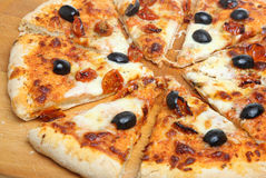 Simple Italian Pizza Royalty Free Stock Photography