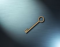 A simple key Royalty Free Stock Photo
