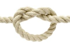 Simple Knot Royalty Free Stock Photos