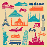 Simple Landmarks And Transport Stock Photography