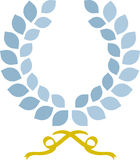 Simple laurel wreath Royalty Free Stock Photos