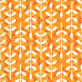 Simple leaves pattern Royalty Free Stock Photos
