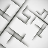 Simple light background of an abstract gray lines Royalty Free Stock Photos