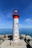 Simple Lighthouse in Ontario Royalty Free Stock Image