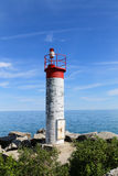 Simple Lighthouse in Ontario Stock Image