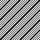 Simple line seamless vector black and white pattern royalty free illustration