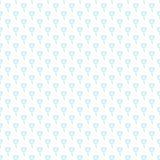 Simple little blue  flower seamless pattern. Kids cute pastel background. Royalty Free Stock Photo