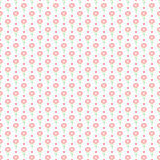 Simple little flower seamless pattern. Kids cute pastel background. Stock Photography