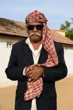 Simple living on the desert in Gujarat Stock Photos