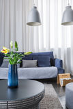 Simple living room Stock Photography