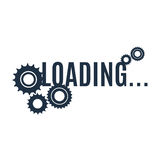 Simple loading icon. Royalty Free Stock Photo