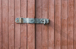 Simple locking system Royalty Free Stock Photo