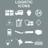 Simple logistics icons set. Stock Image