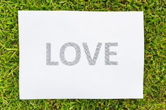 Simple Love Royalty Free Stock Images