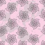 Simple mandalas pattern royalty free illustration