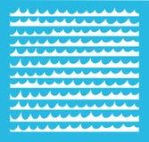 Simple Marine pattern Royalty Free Stock Image