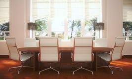 Simple meeting room Stock Photo