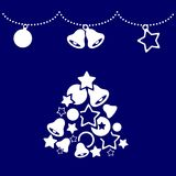 Simple Merry Christmas background Royalty Free Stock Photo