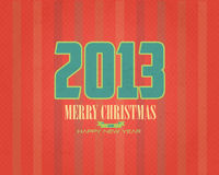 Simple Merry Christmas and Happy New Year Bubbles Stock Photo