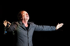 Simple Minds - Belgrade BeerFest 2011. Stock Photography