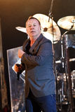 Simple Minds - Belgrade BeerFest 2011. BELGRADE, SERBIA - AUGUST 18 : Scottish pop rock music band SIMPLE MINDS performs onstage at Belgrade BeerFest 2011 at Royalty Free Stock Photos