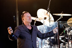 Simple Minds - Belgrade BeerFest 2011. Royalty Free Stock Photography