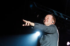 Simple Minds - Belgrade BeerFest 2011. Stock Photo