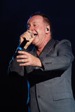 Simple Minds - Belgrade BeerFest 2011. Royalty Free Stock Photo