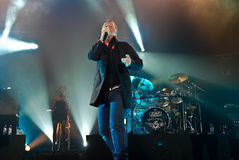 Simple Minds in Concert Royalty Free Stock Photo