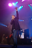 Simple Minds in Concert Stock Image