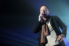 Simple Minds concert Royalty Free Stock Photo
