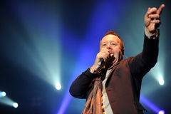 Simple Minds concert Royalty Free Stock Images