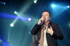 Simple Minds concert Stock Images