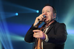 Simple Minds concert Royalty Free Stock Photos