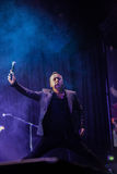 Simple Minds. Perform live at the 3 Arena Dublin on 29th Nov 2015 Stock Photos