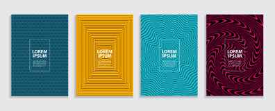 Simple Minimal Covers Template Design. Future Geometric Pattern. vector illustration