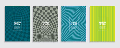 Simple Minimal Covers Template Design. Future Geometric Pattern. Stock Photo