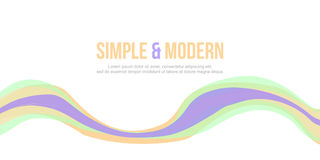 Simple and modern Abstract background design website header. Vector art royalty free illustration