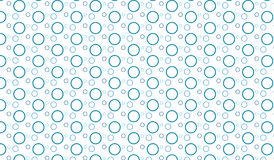 Simple Modern abstract blue bubbles   pattern. Simple trending Modern abstract blue bubbles   pattern use in decor and modern antiques Stock Photography