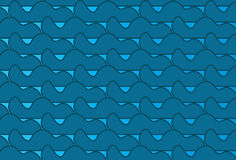 Simple Modern abstract  blue waves pattern. Simple trending Modern abstract blue waves pattern Royalty Free Stock Image