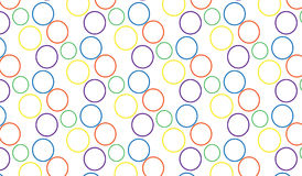 Simple Modern abstract colorful bubbles  pattern. Simple trending Modern abstract colorful bubbles  pattern use in decor and modern antiques Stock Images
